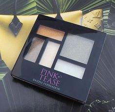 Pink Tease Dazzle Eyeshadow – 02 Greens And Yellows Palette