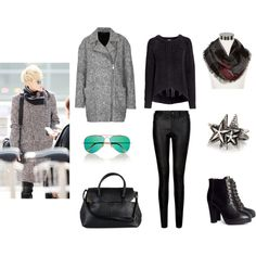 """""""Exo, Tao, Airport Fashion"""" by idresskpop on Polyvore"""