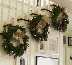 christmas staircases