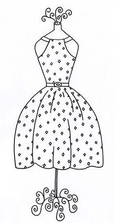 Diamond Dress Pattern //Repinned by RainyDayEmbroidery http://www.etsy.com/shop/RainyDayEmbroidery
