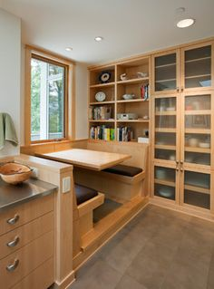 make your kitchen feel like a 5 star restaurant with these booths - Kitchen Booth Ideas