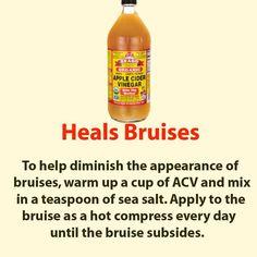 Heals Bruises