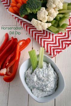 Horseradish Dill Dip | Jen's Favorite Cookies