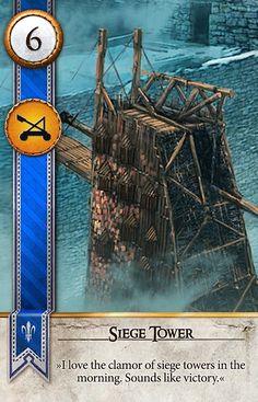 Siege Tower (Gwent Card) - The Witcher 3: Wild Hunt