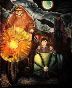 #harrypotter #harrypottercoloringbook #harrypottercolouringbook #hagrid #potterhead #kingsleyshacklebolt #thestrals #acrylic #watercolor #fabercastell #polychromos #coloring #coloriage #colouring #coloringbook #sennelier
