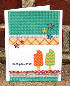 """""""Cool"""" Father's Day Card • Weekly Scrapper father day, fathers day cards"""