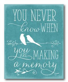 Another great find on #zulily! 'You Never Know When' Wrapped Canvas by Courtside Market #zulilyfinds