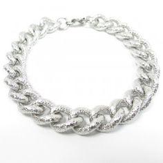 Fiche produit de la gourmette Italienne Milan, Bracelets, Crochet Necklace, Silver, Lifestyle, Jewelry, Fashion, Stylish Man, Man Bracelet