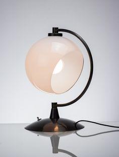Desk Lamp:White/Black