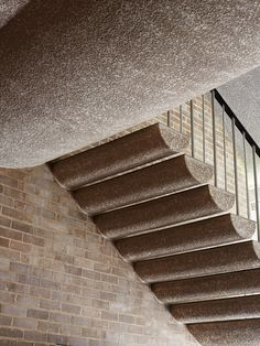 Australian Academy of Science, Canberra - The Design Files Staircase Handrail, Interior Staircase, Stairs Architecture, Victorian Architecture, Stair Railing, Staircase Design, Architecture Design, Railings, Stone Stairs