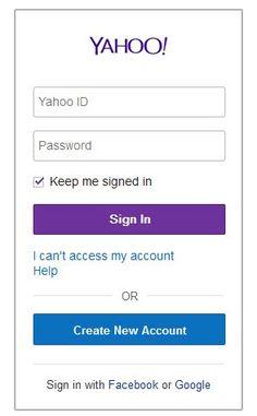Yahoo com br login