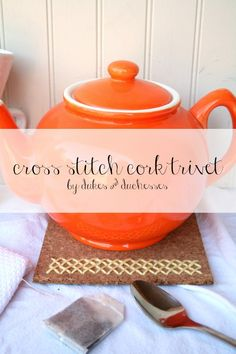 DIY cross stitch cor