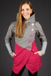Pembroke Pink, Bundy - ATOM RAT Rain Jacket, Blues, Windbreaker, Hoodies, Pink, Sweaters, Jackets, Coats, Outfits