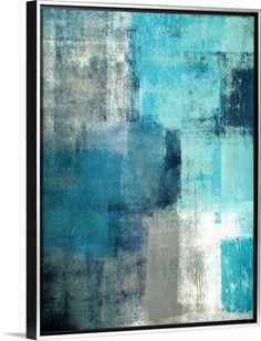 This is a great piece to add some blue you've been needing to your walls.  Find it on GreatBIGCanvas.com
