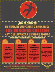 Infográficos Remates Judiciales y Remates Bancarios en Mexico