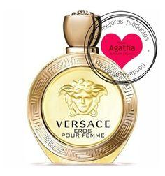 Versace Eros Femme.  Versace Eros Pour Femme es un perfume de la familia florar amaderado. Una fragancia para una mujer femenina y seductora dejando una estela de limón y jazmín.