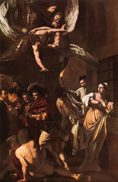 The Seven Acts of Mercy by Caravaggio, 1607.