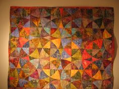 A very nice Winding Ways quilt.
