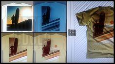 Como nasce uma criação ^^ #design #tshirt #longboard