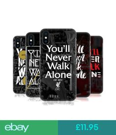 Liverpool Football Club, Liverpool Fc, Iphone Phone, Phone Cases, You'll Never Walk Alone, Mobile Covers, Apple Iphone, Ebay Mobile, Mobile Phones