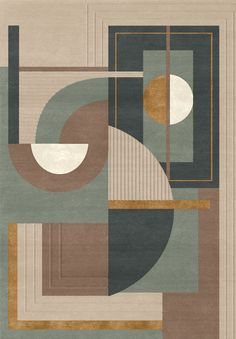 New Geometric Art Deco Pattern Carpets Ideas Quilt Modernen, Art Deco Pattern, Carpet Design, Rugs On Carpet, Stair Carpet, Carpets, Hall Carpet, Buy Carpet, Canvas Art
