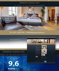 Pension Leipzig Süd – Webdesign für eine der beliebstesten Leipziger Pensionen