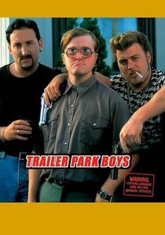 Trailer Park Boys (2001) This wickedly funny mockumentary series follows the booze-fueled misadventures of Julian (John Paul Tremblay), Ricky (Robb Wells) and Bubbles (Mike Smith), longtime pals and petty serial criminals who run scams from their Nova Scotia trailer park -- when they aren't in jail, that is. But kudos to the lads for their persistence, even if their harebrained get-rich schemes involve growing pot right under the nose of ex-cop Jim (John Dunsworth).