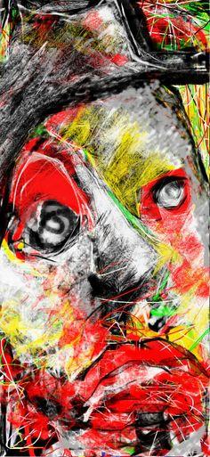 """Once I Was A Clown"" By Ruth Clotworthy"