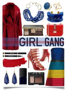 """Yay! It's Galentine's Day"" by ittie-kittie ❤ liked on Polyvore featuring moda, Mary Katrantzou, Donna Karan, Gucci, Valentino, Ciaté, Yves Saint Laurent, Chanel, Kendra Scott y Tuleste"