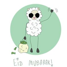 Best Eid al Adha Whatsapp Messages - Eid Mubarak Wishes Eid Adha Mubarak, Eid Mubarak Wishes, Happy Eid Mubarak, Eid Photos, Eid Mubarek, Happy Eid Al Adha, Eid Stickers, Eid Crafts, Sheep Crafts