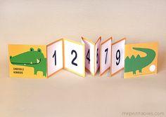 Juegos educativos para aprender los números. libro de numeros