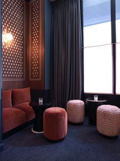 Carpet - Night Flight Bar, Hotel Bachaumont, Paris