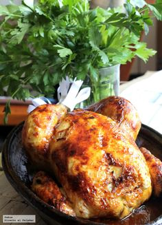 El pollo de Carpanta. Receta  http://paraadelgazar.ws/el-pollo-de-carpanta-receta/ Salud y Bienestar