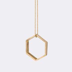 Brass Ornament - Hexagon from Ferm Living