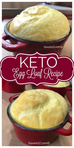 Egg Loaf Recipe (Better Than French Toast!) Keto Egg Loaf Recipe - Taste way better than french toast! Add different toppings too!Keto Egg Loaf Recipe - Taste way better than french toast! Add different toppings too! Keto Foods, Keto Snacks, Egg Loaf Recipe, Loaf Recipes, Keto Egg Recipe, Delicious Recipes, Low Carb Desserts, Low Carb Recipes, Keto Apple Recipes