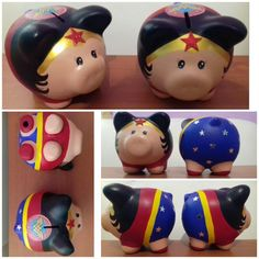 Maravilla puerquito alcancia Pig Bank, Personalized Piggy Bank, Projects To Try, Pottery, Diy Crafts, Ceramics, Crafty, Birthday, Teacup Pigs