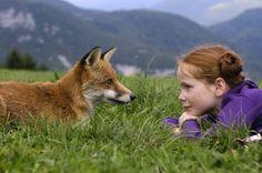Scène uit 'The Fox and the Child'.
