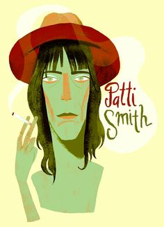 Patti Smith / Musician / by Francisco Javier Olea Patti Smith, Pop Rocks, Her Music, Various Artists, Rock N Roll, Disney Characters, Fictional Characters, Illustration Art, Old Things