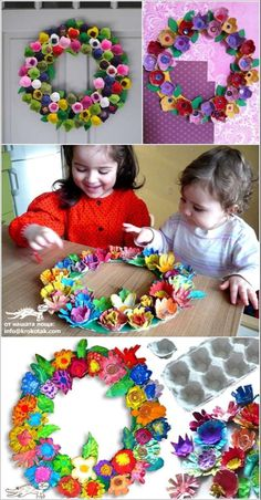 15 Fabulous Egg Carton Crafts and Decor Projects to Try 15 Fabulous Egg Carton Crafts and Decor Projects to Try The post 15 Fabulous Egg Carton Crafts and Decor Projects to Try appeared first on Knutselen ideeën. Easter Crafts, Kids Crafts, Craft Projects, Projects To Try, Arts And Crafts, Preschool Projects, Easter Projects, Easter Activities, Decor Crafts
