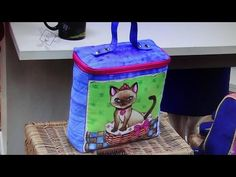 Bolsa frasqueira ou necessaire Maya - Maria Adna Ateliê - Cursos e aulas de bolsas de tecido - YouTube