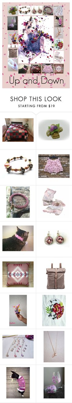 """Up and Down: Unique Handmade Etsy Gifts"" by paulinemcewen on Polyvore featuring Pendleton"