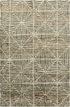 Woodys Web Jute rug from jill rosenwald's new Bjorn collection from Surya.