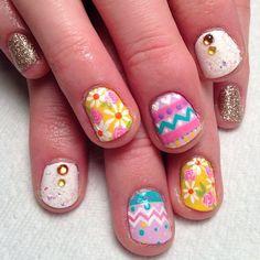 handjobsbyallison easter #nail #nails #nailart
