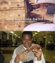 Things Boys Do We Love: When boys make the first move