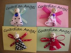 Angel pins by CherryBugs on Etsy