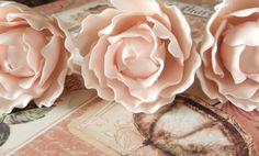 Pink Sugar Gumpaste Peonies Wedding Cake by SUGARonTOPsugarart