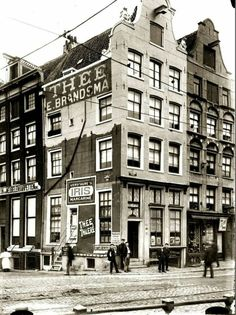 Amsterdam, Haarlemmer straat hk Korte Prinsengracht Amsterdam Holland, New Amsterdam, Street Image, Street View, Rotterdam, Old Pictures, Places To See, Netherlands, Dutch