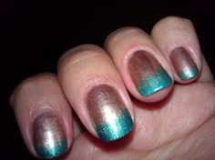 My newest nail design.