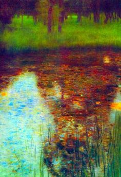 The Marsh. Gustav Klimt (July 14, 1862 – February 6, 1918) was an Austrian symbolist painter and one of the most prominent members of the Vienna Secession movement. Klimt is noted for his paintings, murals, sketches, and other objets d'art. Klimt's primary subject was the female body;[1] his works are marked by a frank eroticism.