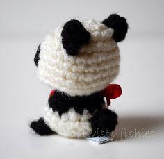 Baby Panda  Kawaii Mini Amigurumi